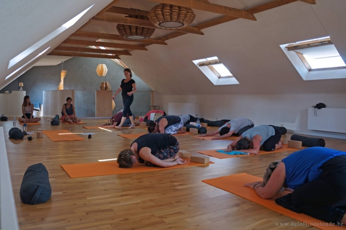 De Loft Oostende yoga - nazomer